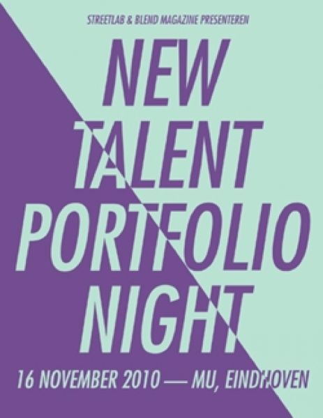 New Talent Portfolio Night - BLEND & Streetlab