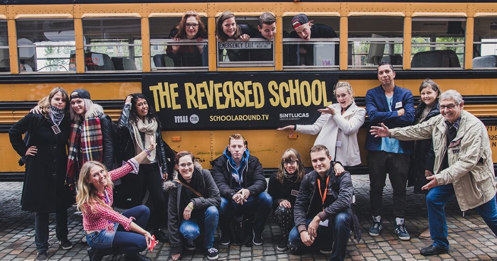 The Reversed Schoolbus at Strijp-S!