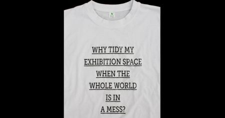 Weather or Not #7: Why tidy my exhibition space when the whole world is in a mess? by Sharon Houkema